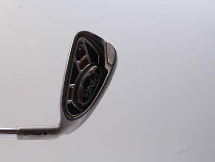 Ping G15 Single Iron 6 Iron Ping AWT Steel Stiff Right Handed Black Dot 38.5in