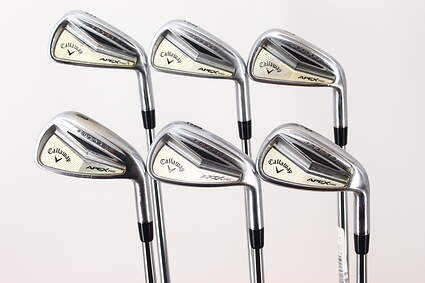 Callaway Apex Pro Iron Set 5-PW Dynamic Gold SL R300 Steel Regular Right Handed Red dot 38.0in