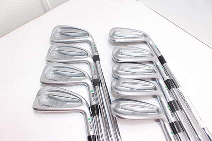 Tour Issue Ping i200 Iron Set 3-GW Dynamic Gold Tour Issue X100 Steel X-Stiff Right Handed Green Dot 38.0in