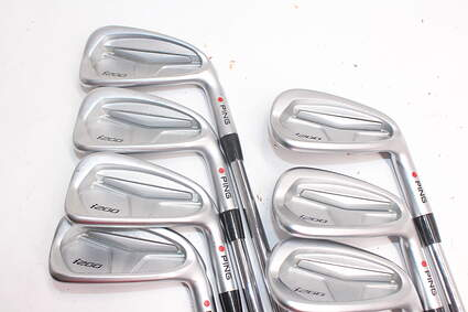 Tour Issue Ping i200 Iron Set 4-PW True Temper XP 115 X100 Steel X-Stiff Right Handed Red dot 38.0in