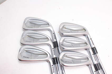 Tour Issue Ping i200 Iron Set 5-PW Nippon 950GH Steel Stiff Right Handed Black Dot 37.75in