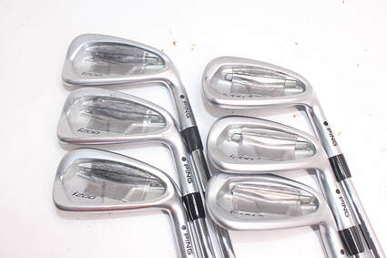 Tour Issue Ping i200 Iron Set 5-PW Project X 5.5 Steel Regular Right Handed Black Dot 37.5in