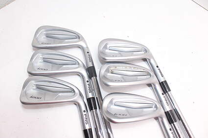 Tour Issue Ping i200 Iron Set 5-PW Nippon N.S. Pro Prototype Steel Regular Right Handed 37.75in