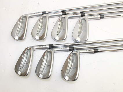 Tour Issue Ping S55 Iron Set 4-PW Project X 6.5 Steel X-Stiff Right Handed 38.0in
