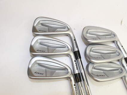 Tour Issue Ping i200 Iron Set 5-PW Nippon 950GH Steel Regular Right Handed Black Dot 38.0in