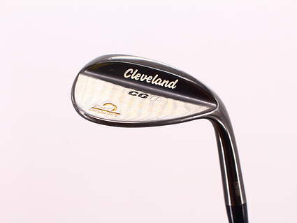 Cleveland CG15 Black Pearl Wedge Lob LW 58° 12 Deg Bounce Cleveland Traction Steel Wedge Flex Right Handed 35.5in