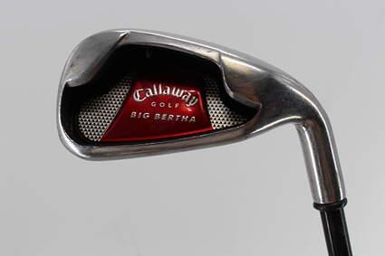 Callaway 2008 Big Bertha Single Iron 6 Iron Callaway Stock Graphite Graphite Stiff Right Handed 37.5in