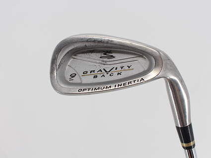 Cobra Gravity Back Single Iron 9 Iron Stock Steel Shaft Steel Stiff Right Handed 35.75in
