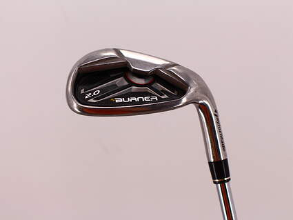 TaylorMade Burner 2.0 HP Single Iron Pitching Wedge PW   TM Burner 2.0 85 Steel Stiff Right Handed 35.75in