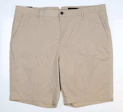 New Mens Dunning Golf Shorts 42 Khaki D7S17H601 MSRP $85