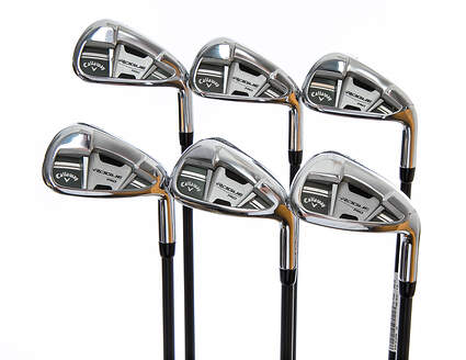 Callaway Rogue Pro Iron Set 5-PW UST Mamiya Recoil 760 ES Graphite Regular Right Handed 37.75in