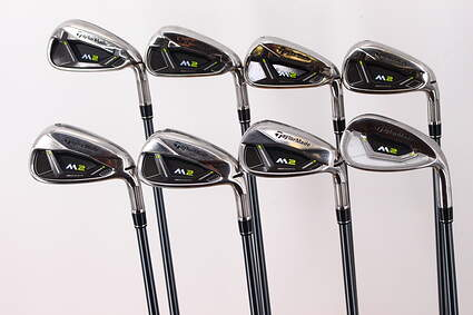 TaylorMade M2 Iron Set 5-PW GW SW TM M2 Reax Graphite Regular Right Handed 38.5in