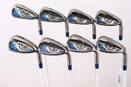 Ping G LE Iron Set 5-PW GW SW ULT 230 Lite Graphite Ladies Right Handed Red dot 38.0in