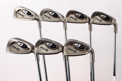 Ping i3 + Iron Set 4-PW Ping CS Lite Steel Regular Right Handed Green Dot 38.0in