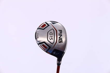 Ping G15 Fairway Wood 4 Wood 4W 17° Ping TFC 149F Graphite Regular Right Handed 42.5in