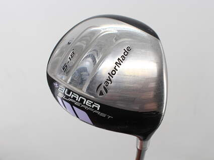 TaylorMade Burner Superfast Fairway Wood 5 Wood 5W 18° TM Matrix Ozik Xcon 4.8 Graphite Ladies Right Handed 42.0in