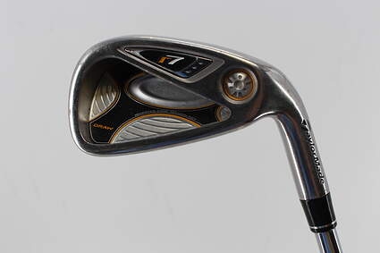 TaylorMade R7 Draw Single Iron 6 Iron TM T-Step 90 Steel Stiff Right Handed 37.5in