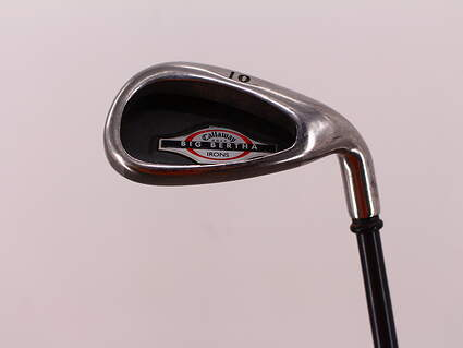 Callaway 2002 Big Bertha Single Iron Pitching Wedge PW Callaway RCH 75i Graphite Stiff Right Handed 36.75in
