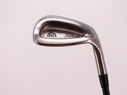 Titleist DCI 762 Single Iron 9 Iron Stock Graphite Shaft Graphite Regular Right Handed 35.5in