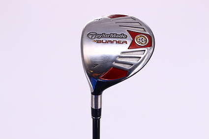 TaylorMade 2007 Burner Steel Fairway Wood 7 Wood 7W 21° TM Reax Superfast 50 Graphite Regular Left Handed 42.0in
