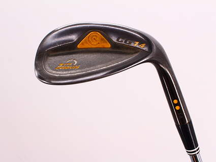 Cleveland CG14 Gunmetal Wedge Sand SW 56° 14 Deg Bounce Cleveland Traction Wedge Steel Wedge Flex Right Handed 35.25in