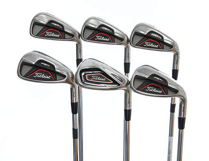 Titleist 712 AP1 Iron Set 5-PW Dynamic Gold XP R300 Steel Regular Right Handed 38.0in
