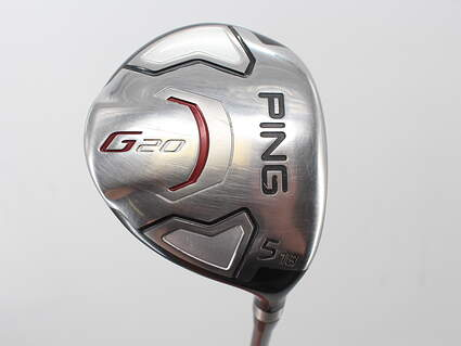 Ping G20 Fairway Wood 5 Wood 5W 18° Ping TFC 169F Graphite Regular Right Handed 42.5in