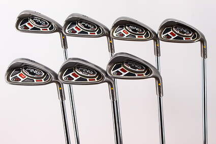 Ping G15 Iron Set 5-PW GW Ping AWT Steel Regular Right Handed Yellow Dot 38.25in