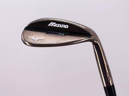 Mizuno MP-T4 Black Nickel Wedge Lob LW 60° 5 Deg Bounce Dynamic Gold SL R300 Steel Regular Right Handed 35.0in