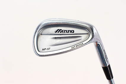 Mizuno MP 57 Single Iron Pitching Wedge PW True Temper Dynamic Gold S300 Steel Stiff Right Handed 35.75in