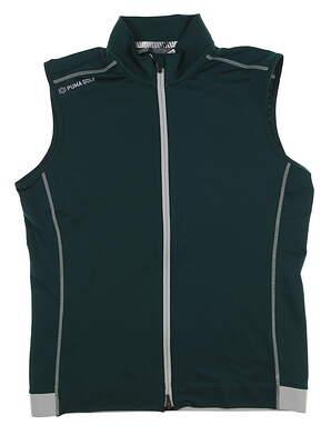 New Mens Puma PWRWARM Vest Medium M Ponderosa Pine 577904 04 MSRP $75