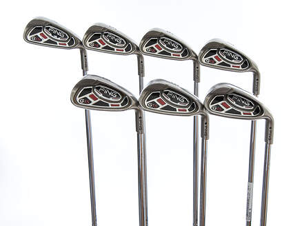 Ping G15 Iron Set 4-PW Ping AWT Steel Regular Right Handed Black Dot 38.0in
