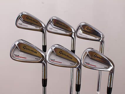 TaylorMade 2014 Tour Preferred MC Iron Set 5-PW FST KBS Tour Steel Regular Right Handed 39.0in