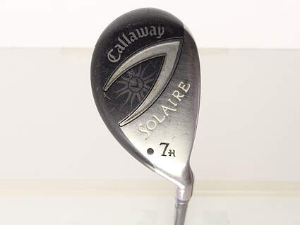 Callaway Solaire Gems Hybrid 7 Hybrid Callaway 55 Gram Graphite Ladies Right Handed 37.75in