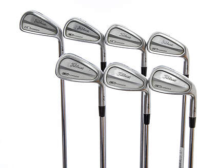 Titleist 712 CB Iron Set 4-PW Project X Rifle 6.0 Steel Stiff Right Handed 38.0in