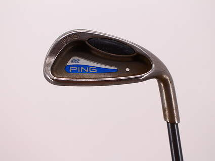 Ping G2 Single Iron 9 Iron Ping TFC 100I Graphite Regular Right Handed White Dot 35.75in