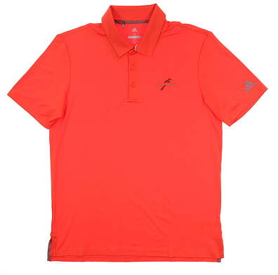 New W/ Logo Mens Adidas Ultimate 365 Polo Medium M Red CE0011 MSRP $65