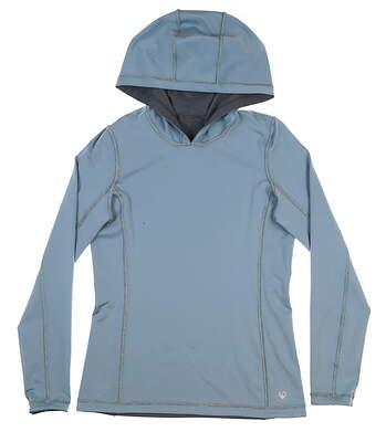 New Womens Straight Down Reflex Reversible Small S Blue-JUN w14240 MSRP $104