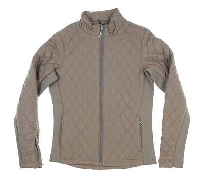 New Women Straight Down Elm Jacket Small S Tan MOC W60224 MSRP $128
