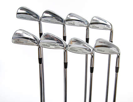 Titleist 695 MB Forged Iron Set 3-PW Project X 6.5 Steel X-Stiff Right Handed 38.0in