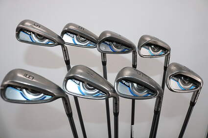 Ping Gmax Iron Set 5-PW GW SW CFS 70 Graphite Regular Right Handed Yellow Dot 38.5in