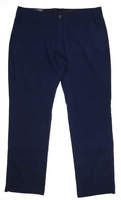 New Mens Under Armour Golf Pants 42 x34 Navy Blue UM8811 MSRP $80