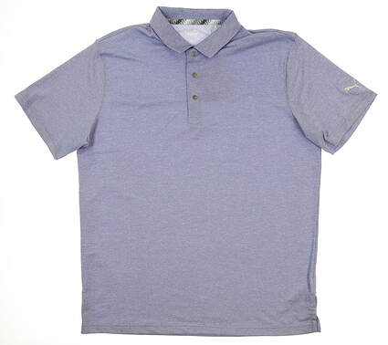 New Mens Puma Grill to Green Polo Large L Surf the Web 577397 03 MSRP $60