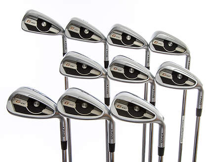 Ping G400 Iron Set 4-PW SW LW AWT 2.0 Steel Stiff Right Handed Black Dot 38.0in