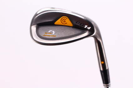 Cleveland CG14 Gunmetal Wedge Sand SW 54° 9 Deg Bounce Cleveland Traction Wedge Steel Wedge Flex Right Handed 35.5in