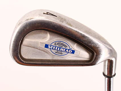 Callaway X-14 Single Iron 4 Iron Callaway Stock Steel Uniflex Right Handed 38.75in