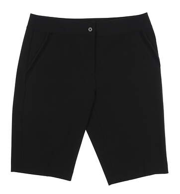 New Womens EP NY Golf Shorts 8 Black 8140NAD MSRP $80