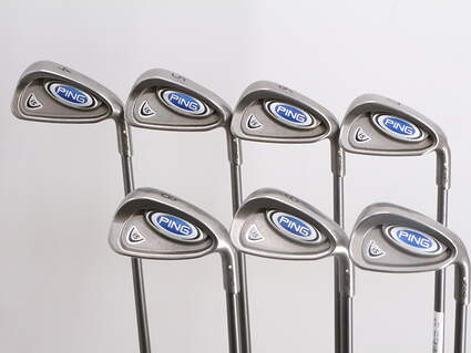 Ping i5 Iron Set 4-PW Ping TFC 100I Graphite Stiff Right Handed White Dot 39.5in