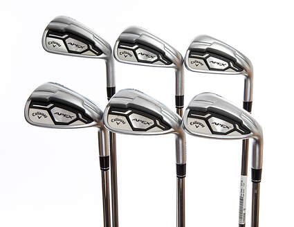 Callaway Apex CF16 Iron Set 5-PW UST Mamiya Recoil 760 ES Graphite Regular Right Handed 38.0in