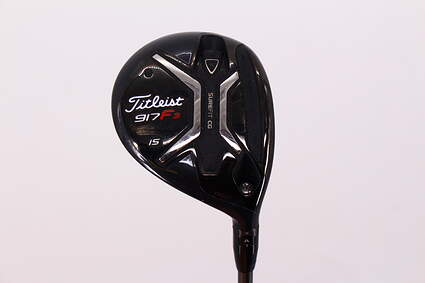 Titleist 917 F3 Fairway Wood 3 Wood 3W 15° Aldila Rogue M-AX 75 Red Graphite X-Stiff Right Handed 43.0in
